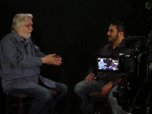 Denny (Right) with best selling author Neale Donald Walsch