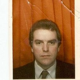 Mr Sensible the Hi-Fi salesman. Taken in 1985 just before my time with NAAFI came to an end. It was taken in a photo booth (I think at Herford rail station but I can't be sure)