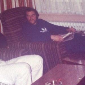 Me looking like an axe killer! Taken in Bielefeld hostel during my Who blasting days.